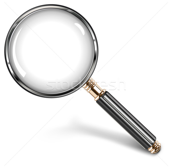 Magnifying glass Stock photo © creatOR76