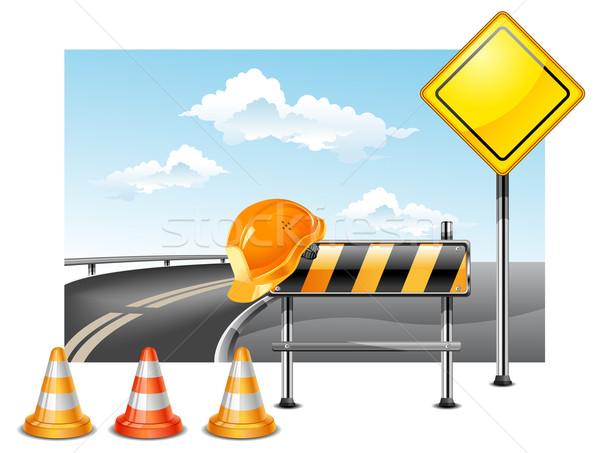 Road construction  Stock photo © creatOR76