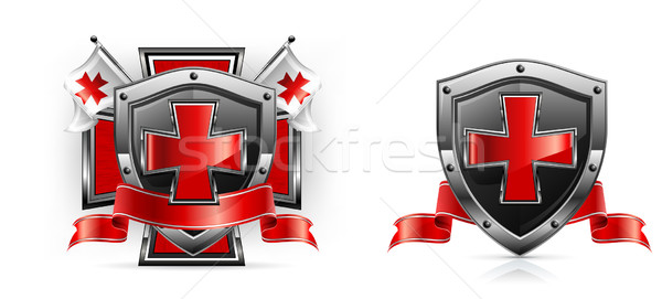 Templar emblem  Stock photo © creatOR76