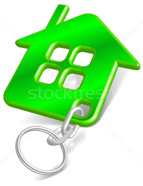 Trinket house green  Stock photo © creatOR76