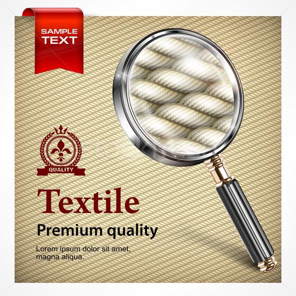 Textile seamless pattern Stock photo © creatOR76