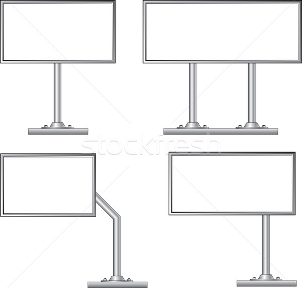 Blank billboard, vector Stock photo © creatOR76