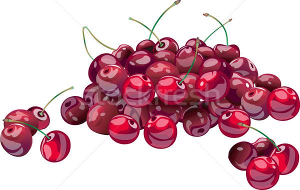 Cherries Stock photo © creatOR76