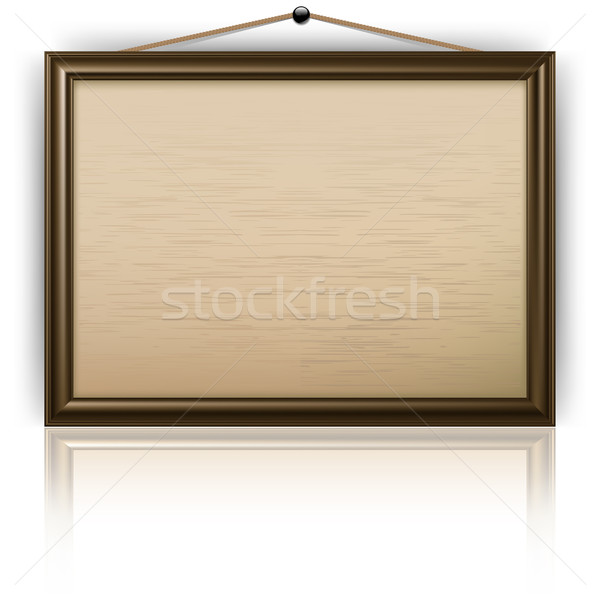 Empty notice board Stock photo © creatOR76