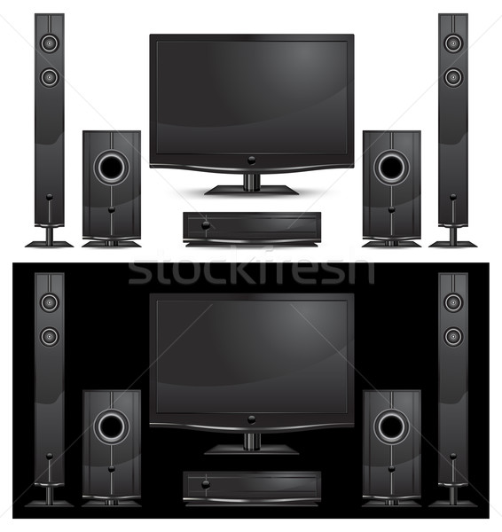 Home theatre Stock photo © creatOR76