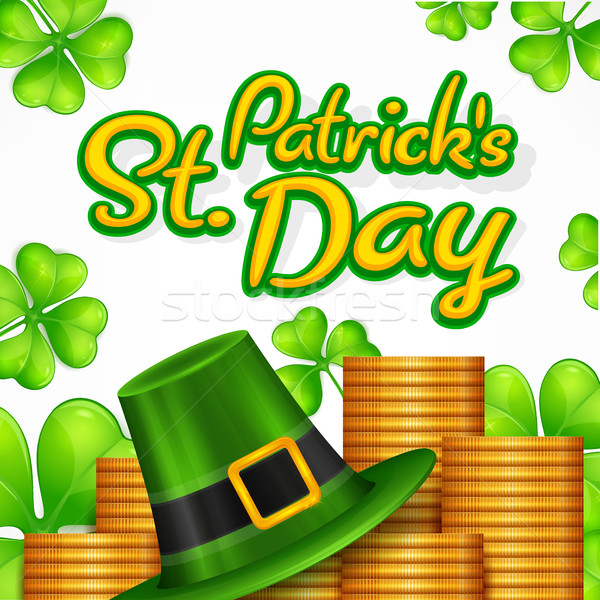 St. Patrick Day poster. Stock photo © creatOR76