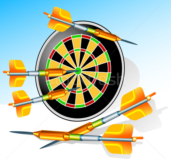 Darts Stock photo © creatOR76