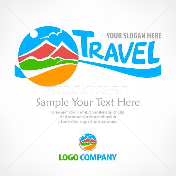 Travel logo concept Stock photo © creatOR76