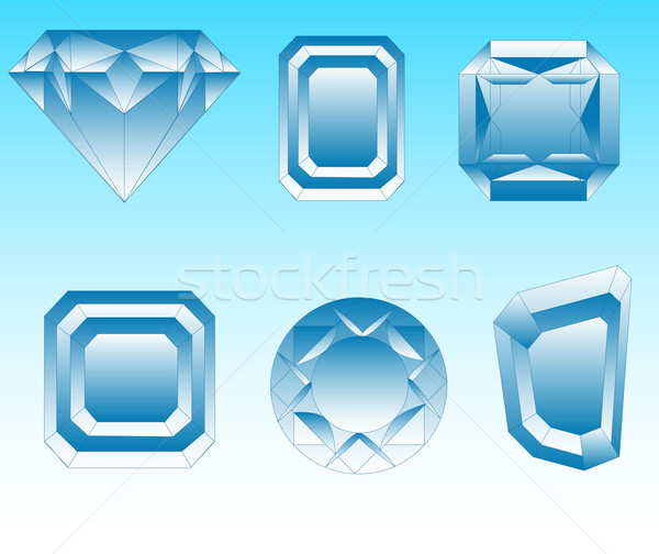 Diamonds Stock photo © creatOR76