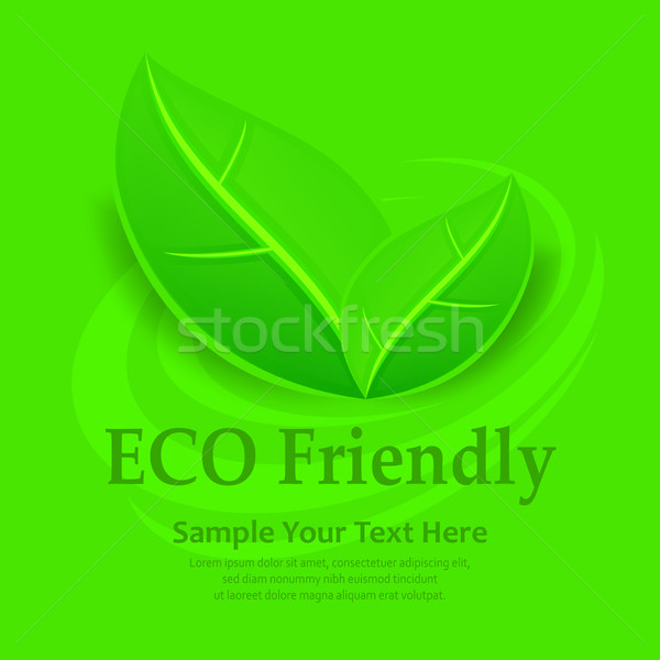 Eco friendly background Stock photo © creatOR76