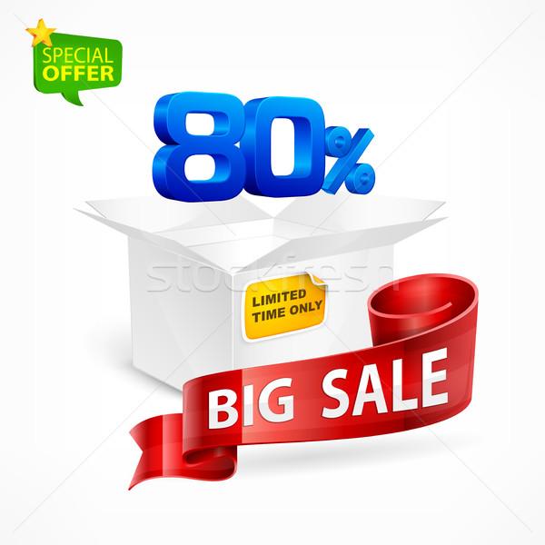 Big sale concept  Stock photo © creatOR76