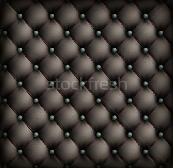 Vintage leather upholstery background Stock photo © creatOR76