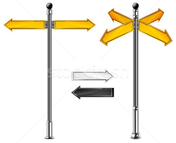 Road signs Stock photo © creatOR76