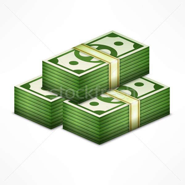 Piles of money  Stock photo © creatOR76