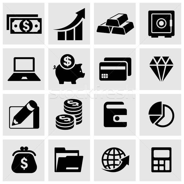 Infographic money set Stock photo © creatOR76