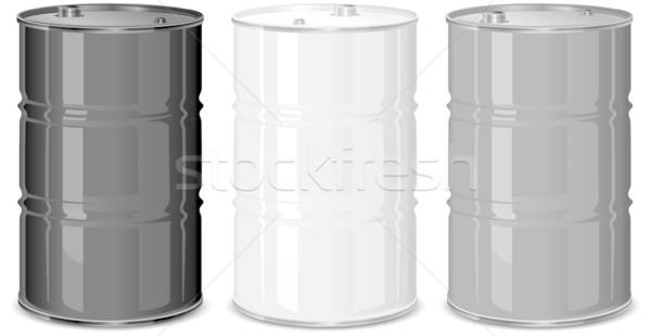 металл три промышленности нефть энергии стали Сток-фото © creatOR76