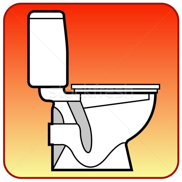 Toilet bowl Stock photo © creatOR76