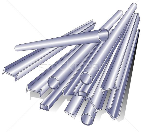Metal pipe Stock photo © creatOR76