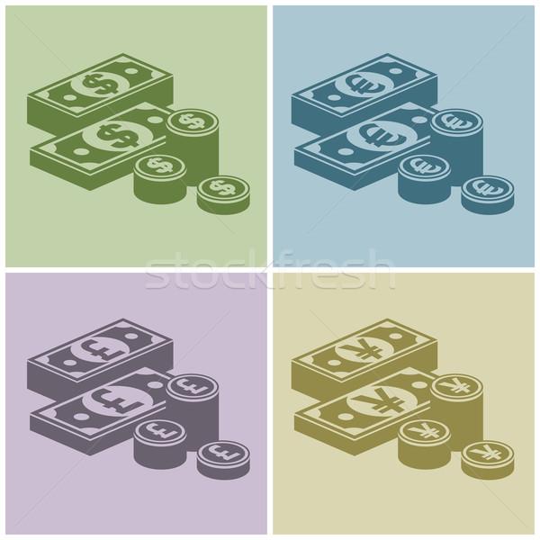 Pile of money  Stock photo © creatOR76