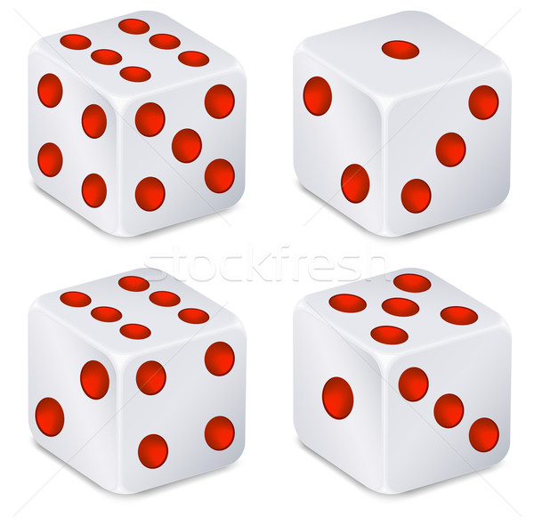 Dices for dribbling Stock photo © creatOR76