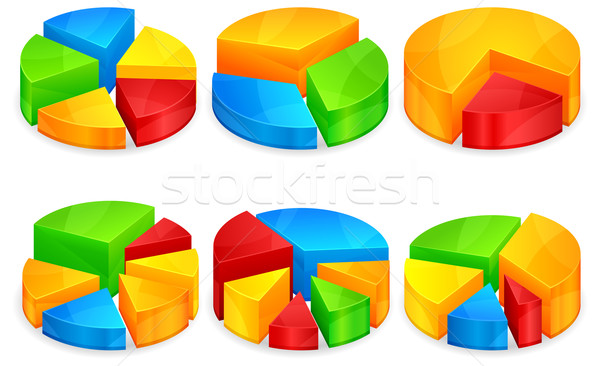 Circular diagram  Stock photo © creatOR76