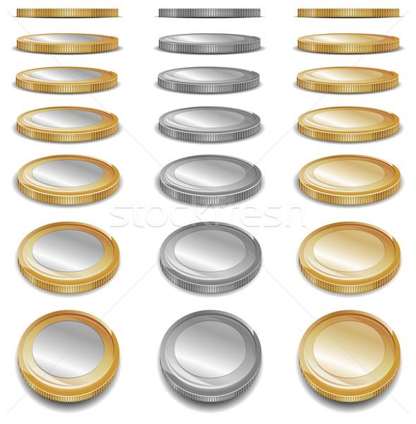 Gold coins  Stock photo © creatOR76