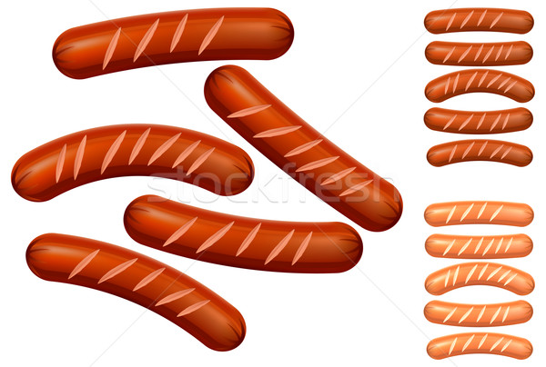 Sausages Stock photo © creatOR76
