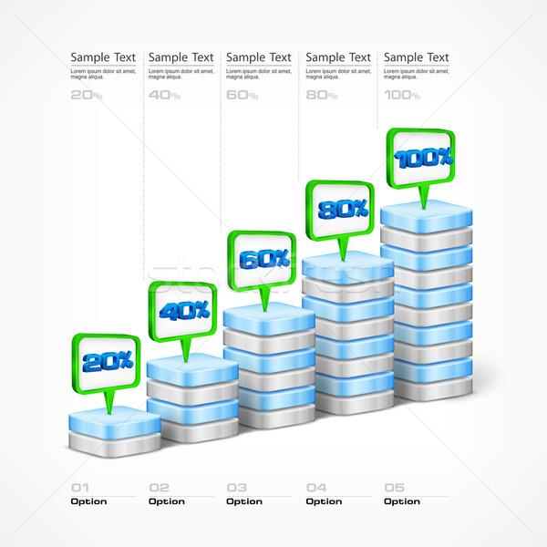 Indication elements & pointer Stock photo © creatOR76