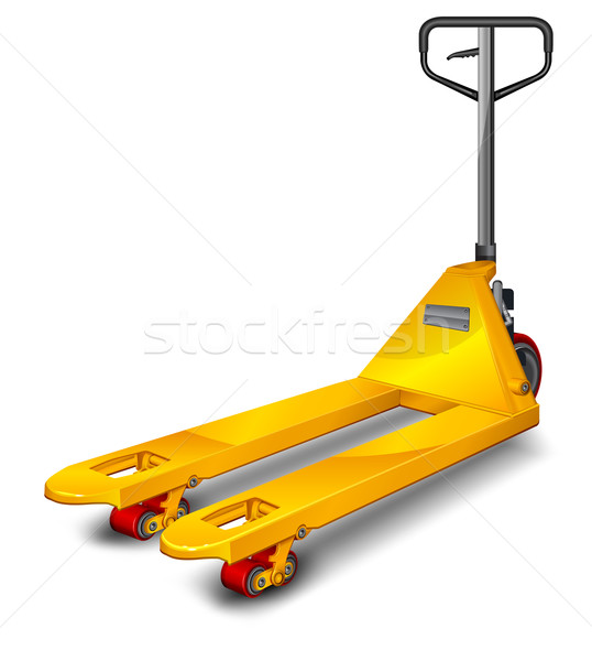 Pallet truck  Stock photo © creatOR76