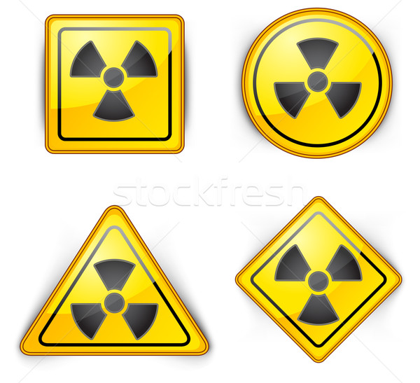 nuclear symbol Stock photo © creatOR76