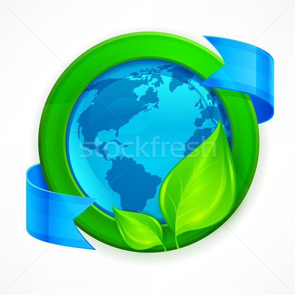 Green earth concept Stock photo © creatOR76