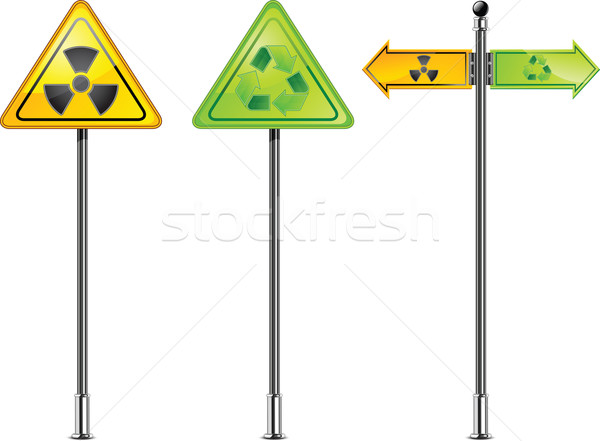 nuclear sign Stock photo © creatOR76