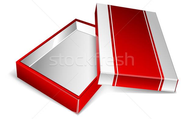 Open box  Stock photo © creatOR76