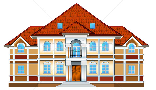 Private residence Stock photo © creatOR76