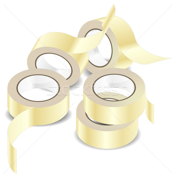 Adhesive tape Stock photo © creatOR76