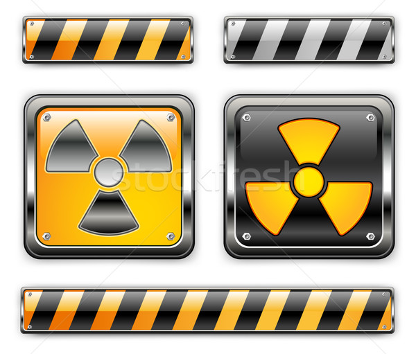 nuclear icon Stock photo © creatOR76