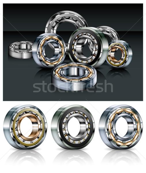Metal bearings Stock photo © creatOR76
