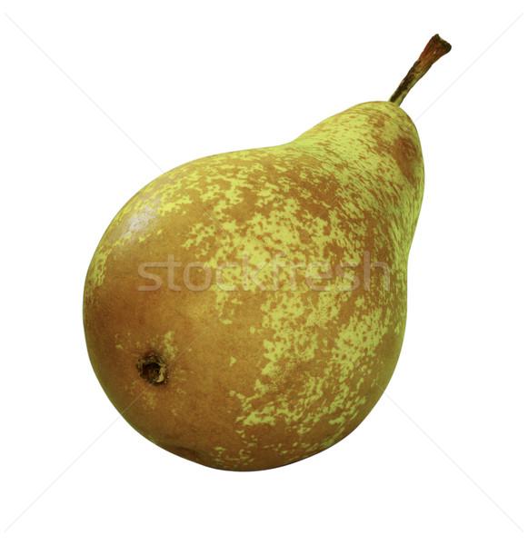 梨 ジューシー 孤立した 白 食品 フルーツ ストックフォト © crisp