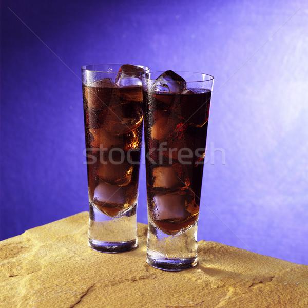 кокса пород два очки песчаный рок Сток-фото © crisp