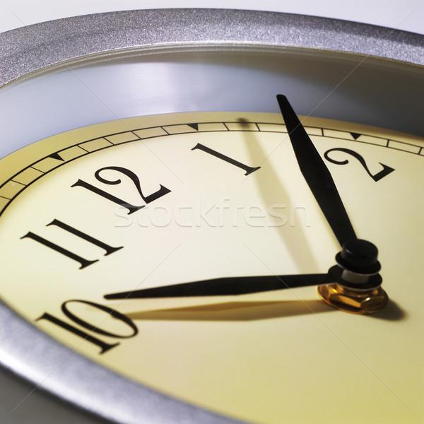 часы стены яблоко кадр Смотреть Сток-фото © crisp