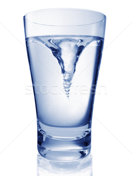 glas of twisting water Stock photo © crisp