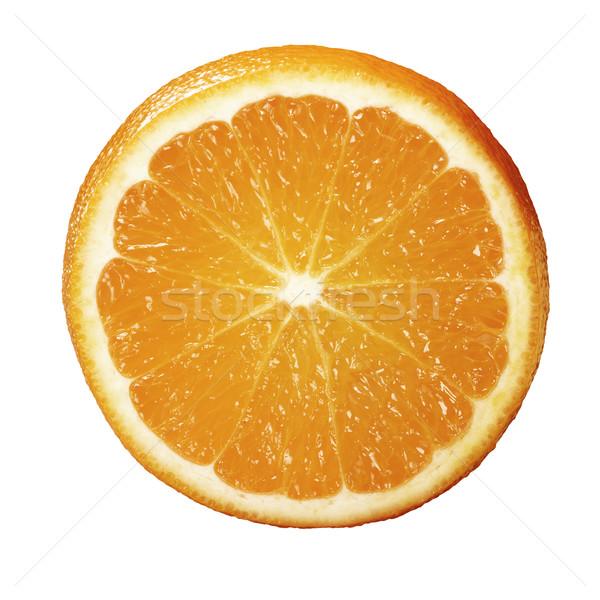 Laranja isolado branco natureza fruto saúde Foto stock © crisp