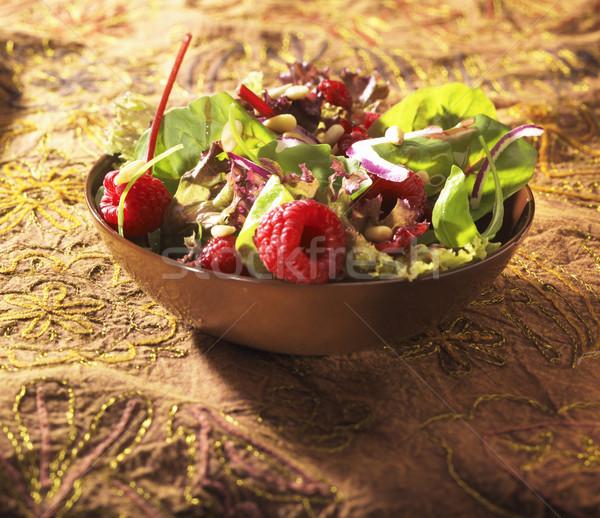 Sıcak salata güneş ışık gıda doğa Stok fotoğraf © crisp