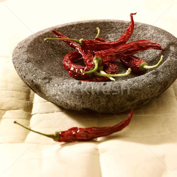 red pepper in bowl Stock photo © crisp