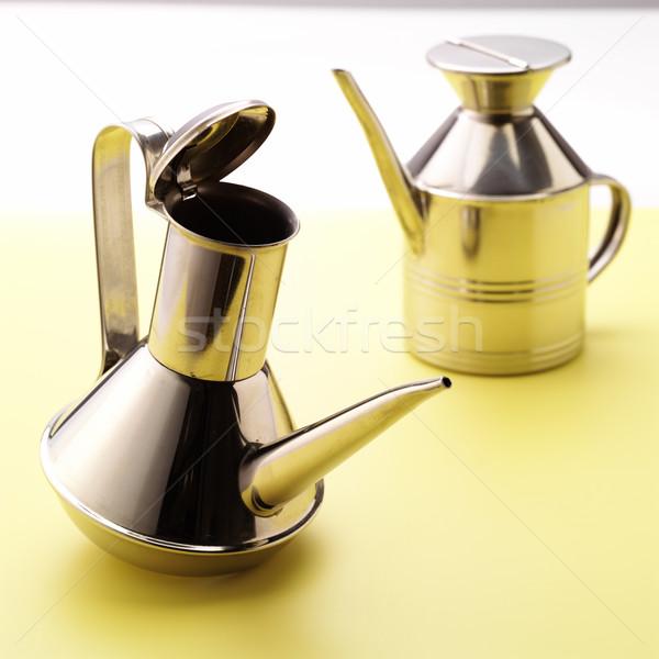 молоко сахар можете кофе кухне пить Сток-фото © crisp