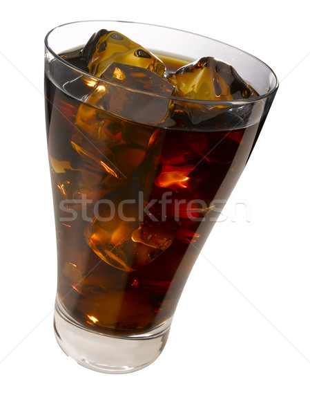 Cola rochas vidro copo legal Foto stock © crisp
