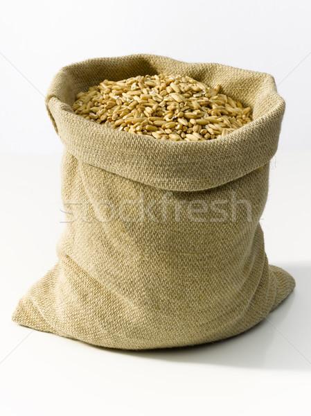 çanta buğday çuval bezi doğa çiftlik tarım Stok fotoğraf © crisp