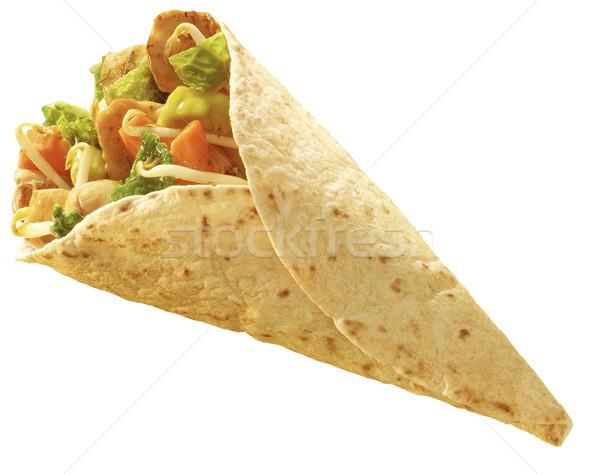 tortilla Chicken wrap Stock photo © crisp