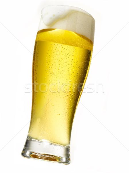 beer glass Stock photo © crisp