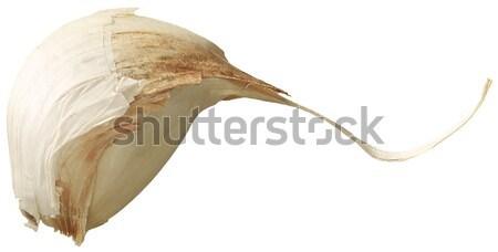 Gerezd fokhagyma izolált fehér Stock fotó © crisp